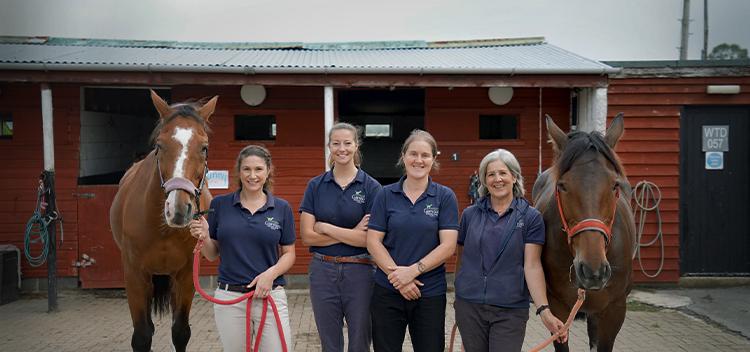 Meet Garston Vets' Equine Team