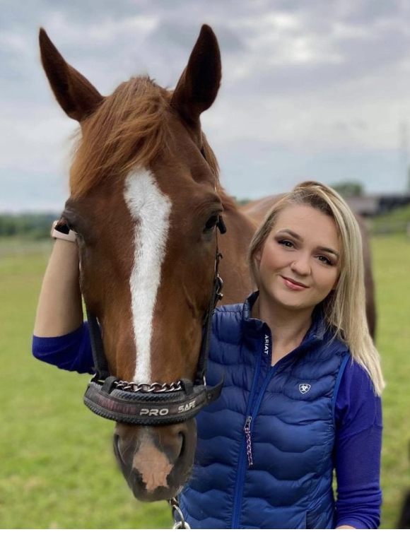 Welcome to the equine team Kate